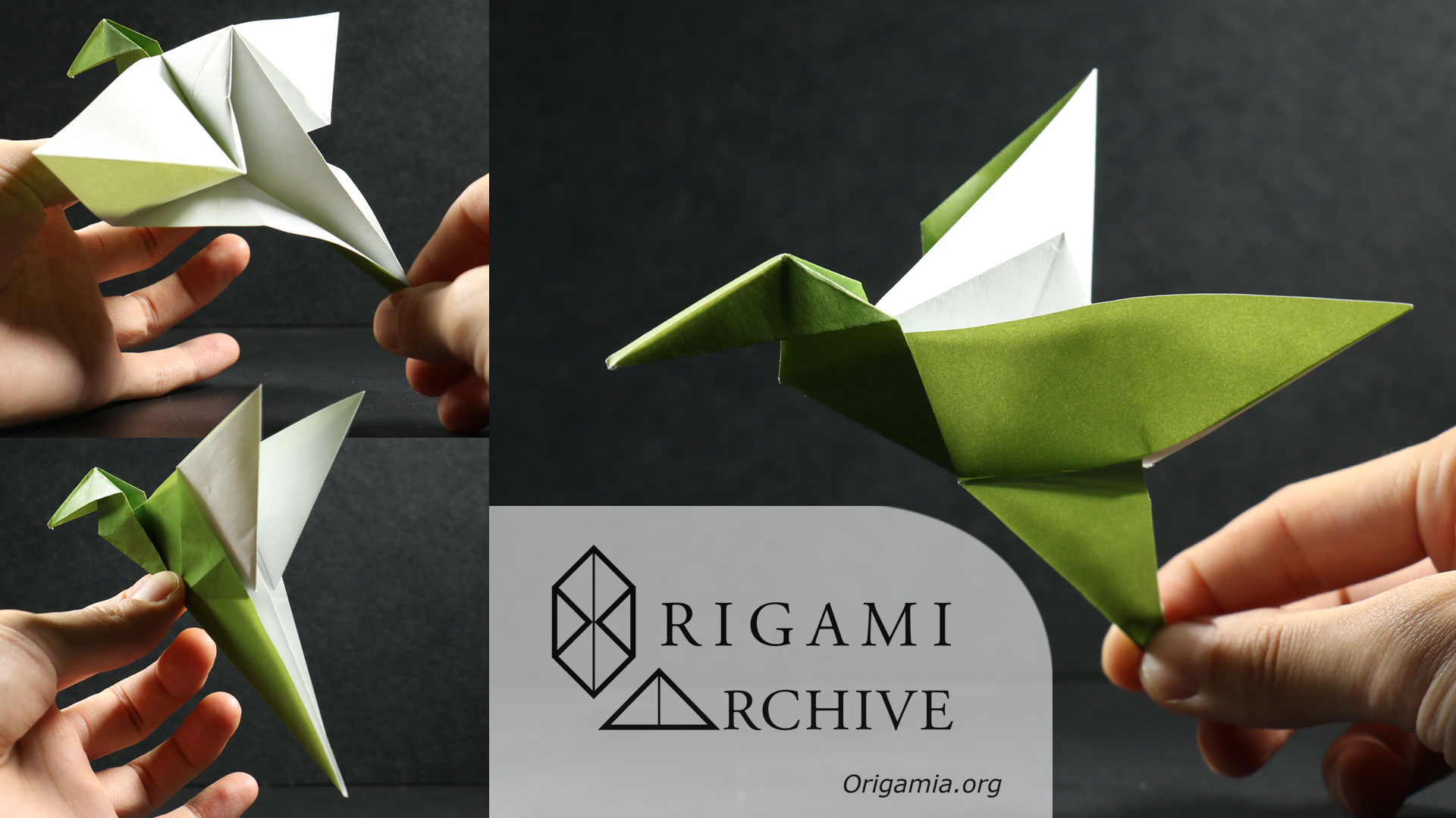 Origami spinning top the fidget spinner alternative origami origami flapping bird jeuxipadfo Images
