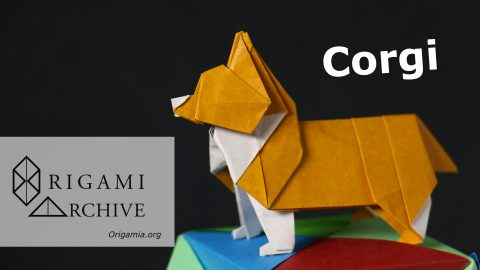 Origami Corgi